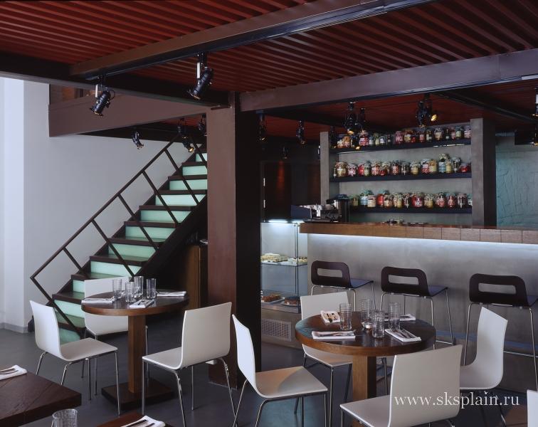 Ремонт и реконструкция двухэтажного кафе